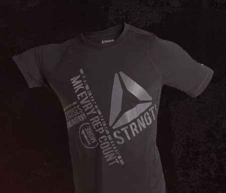 reebok live with fire t-shirt