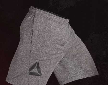 reebok live with fire shorts
