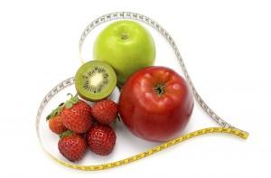 healthy food measuring tape